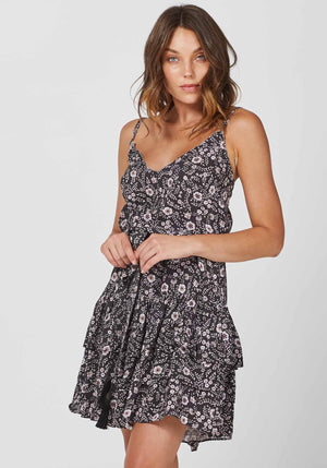 Gia Floral Decree Party Dress by Three of Something Sydney Australia