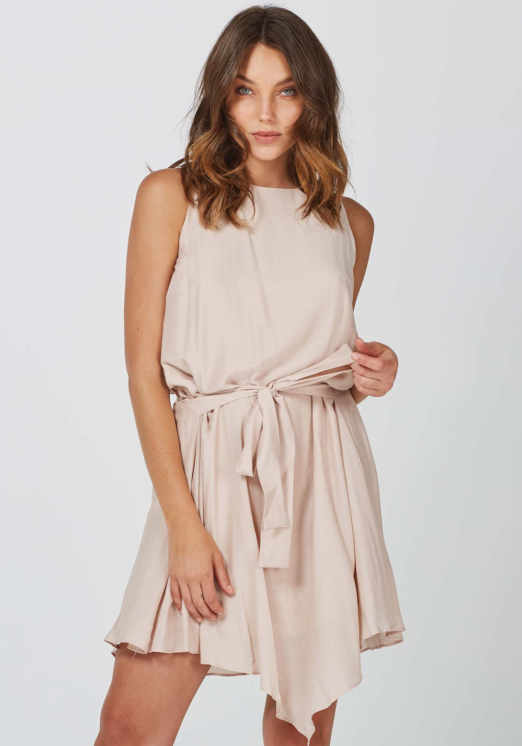 Pocket Watch Sleeveless Party Dress by Three of Something Sydney Australia