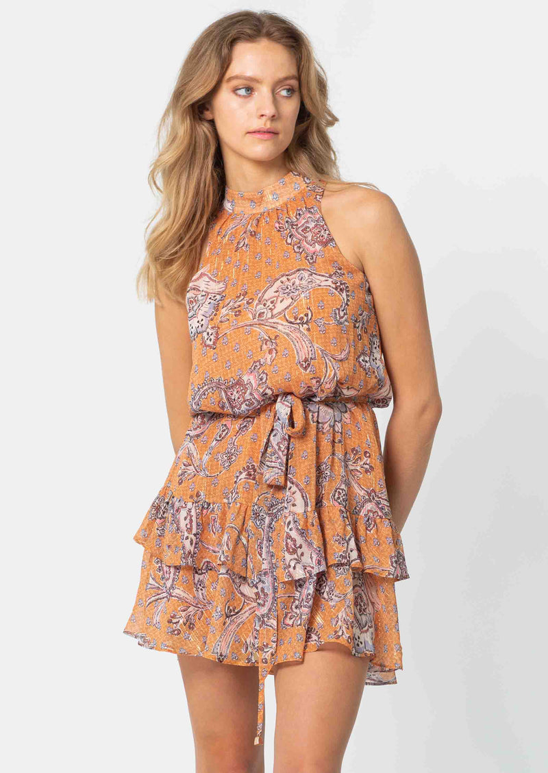 Sunshine Paisley  Abbey Dress | Sunkeeper Paisley