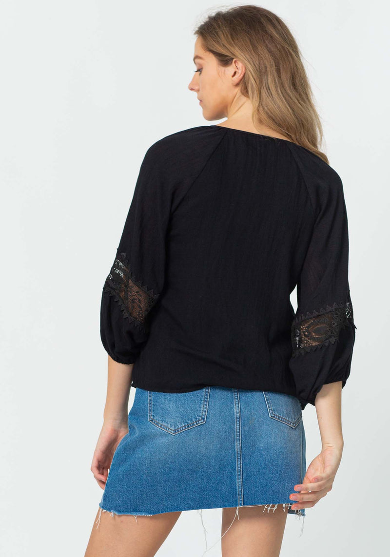 Sweet Home Blouse | Black