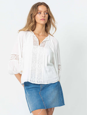 Sweet Home Blouse | White