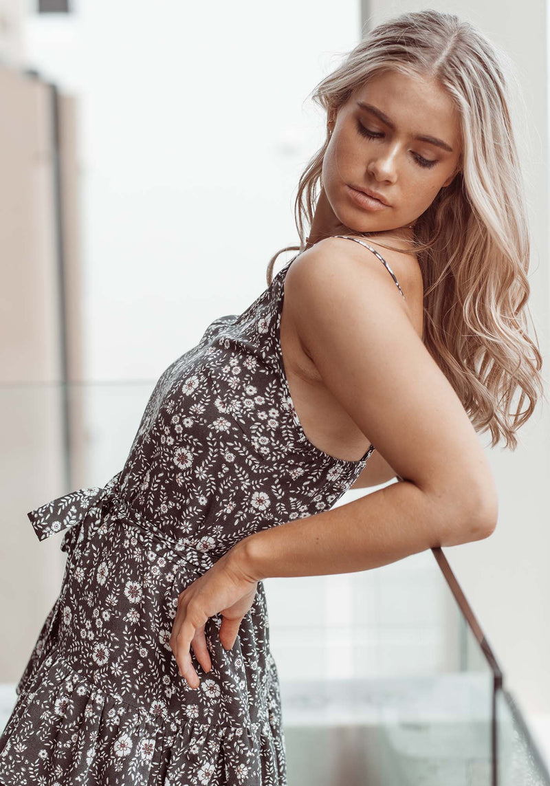 Gia Floral Decree Floral Party Dress by Three of Something Sydney Australia