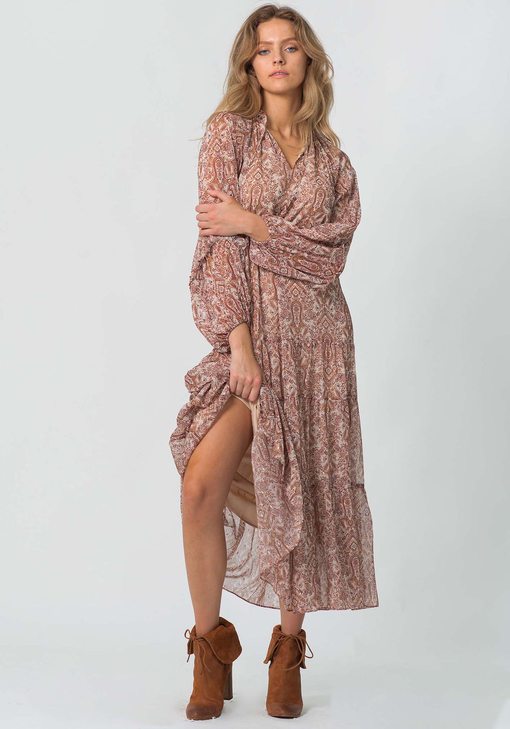 Aura Paisley Spell Dress