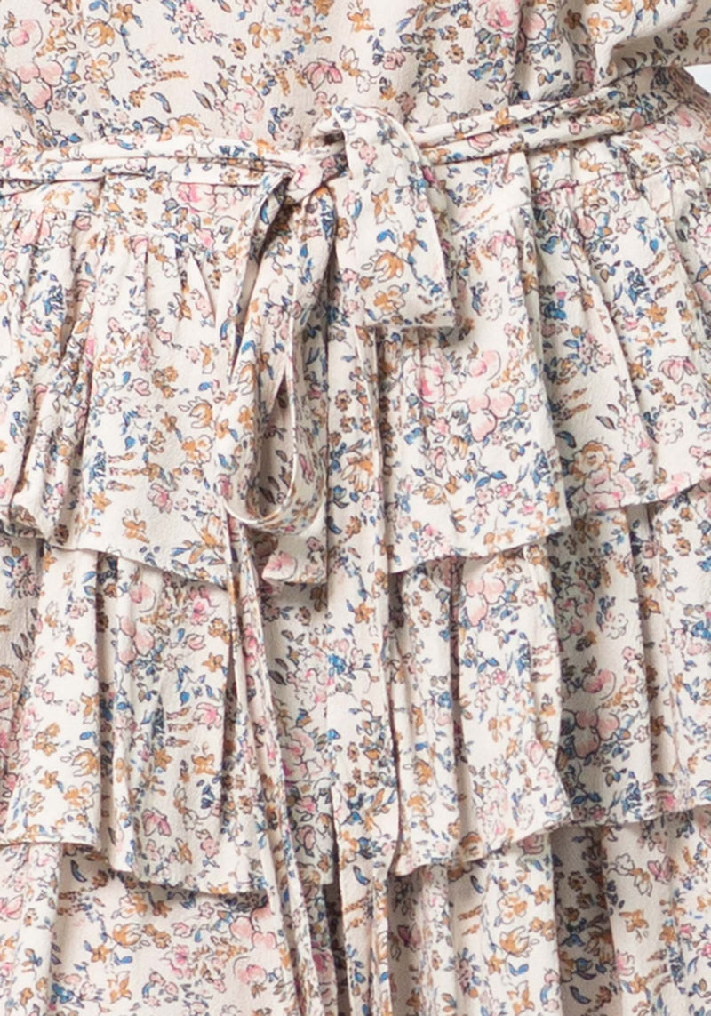 Empire Ditsy Floral Dynasty Dress | Floral Party Dress by Three of Something Sydney Australia