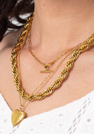 Nevermind Chain Necklace