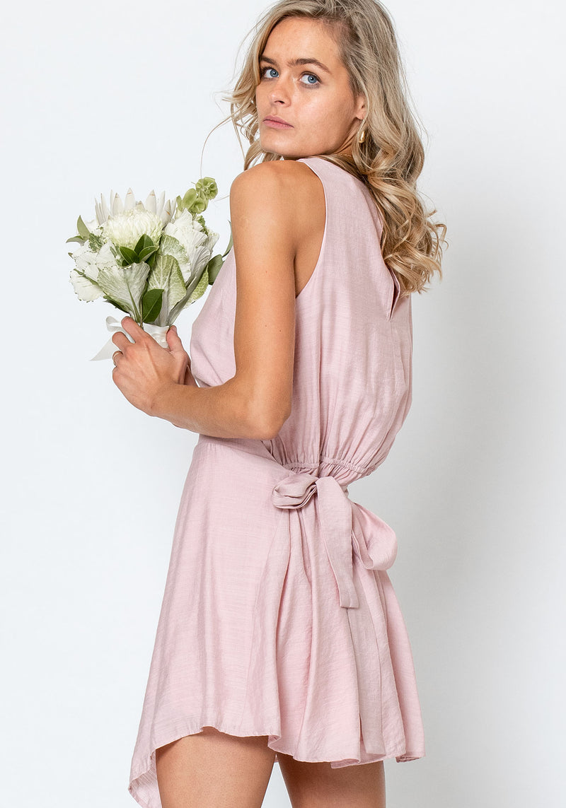 Pocket Watch Pink Wedding Party Dress by Three of Something Sydney Australia
