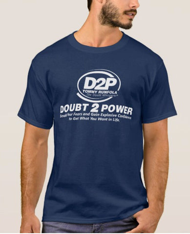 Doubt 2 Power T Shirt - Navy