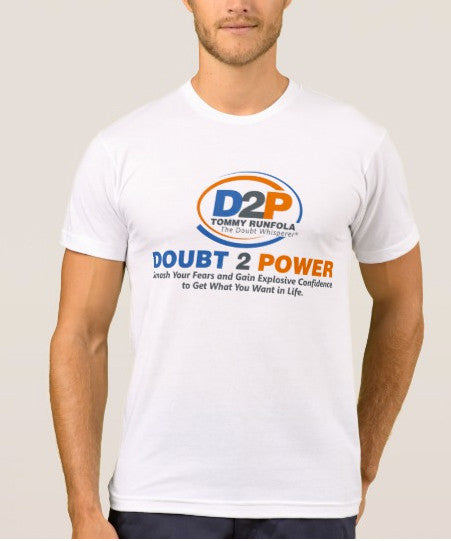 Doubt 2 Power T Shirt - White