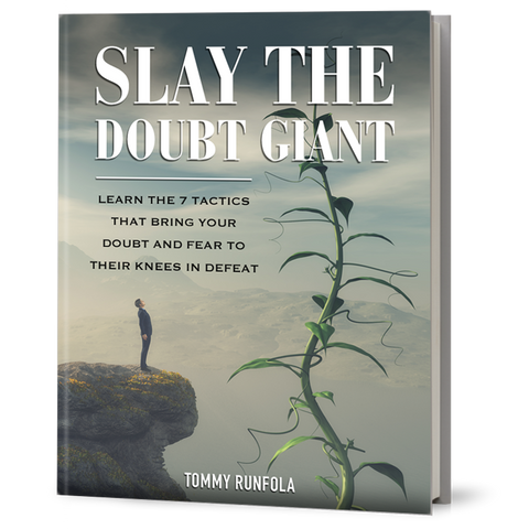 SLAY THE DOUBT GIANT