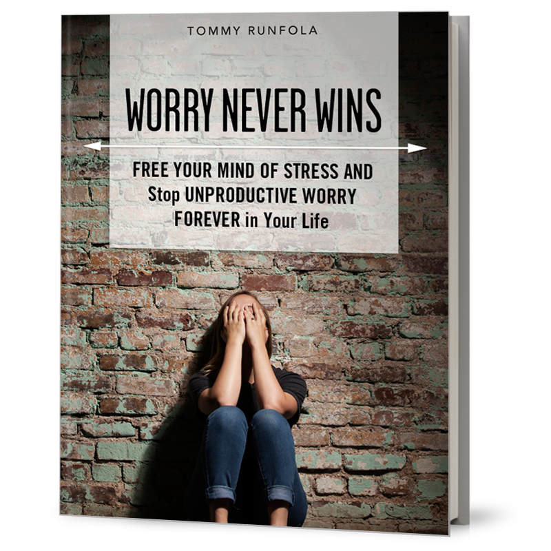 WORRY NEVER WINS - eBOOK