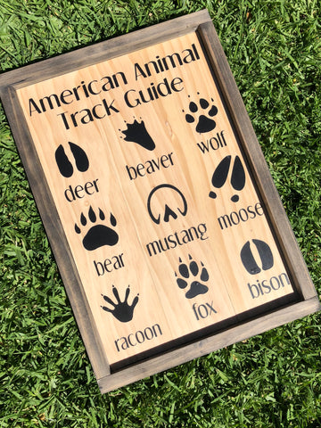 American Animal Track Guide