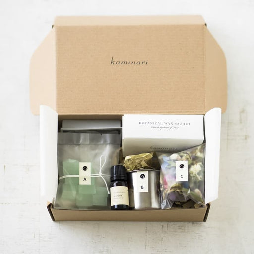Matcha DIY Wax Sachet Kit