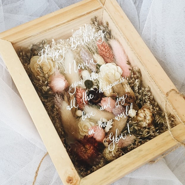 Custom Dried Flower Box (M)