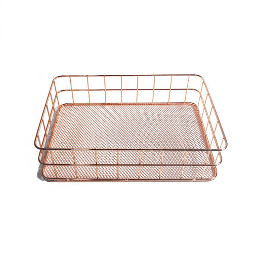 Rose Gold Medium Basket