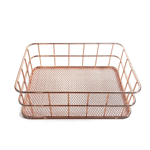 Decco Rose Gold Small Basket