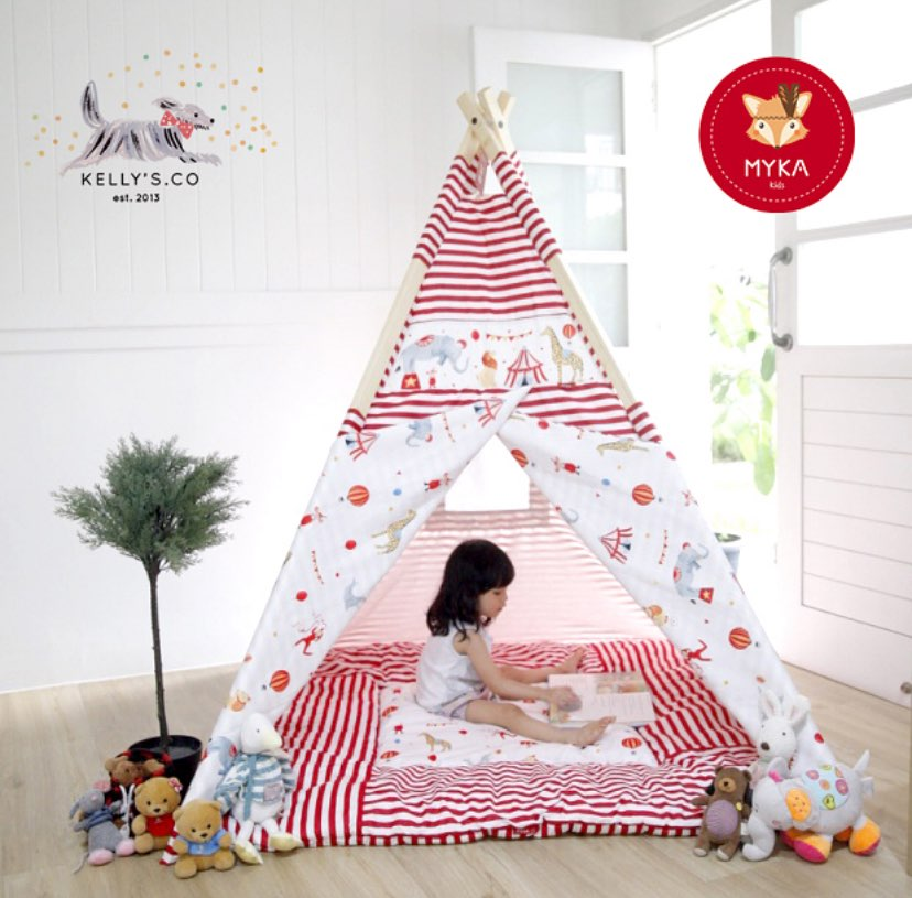 Circus Teepee Tent (Designer Collection)