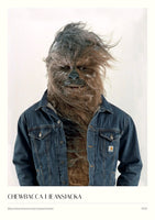 #321 - Chewbacca i jeansjacka - A3 Poster