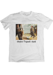 T-shirt: Anders Tegnell i duell