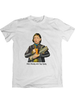 T-shirt: Slim Shady som Log Lady