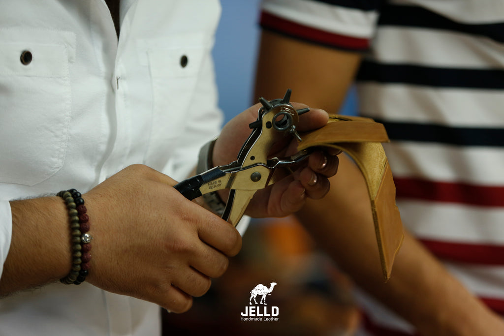 Introducing JELLD Leather from Palestine: Wallets, Tobacco Pouches, Card Holders and More!
