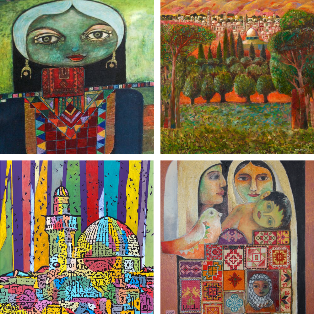 Art Posters by Palestinian Artists from Ramallah by Zawyeh Gallery