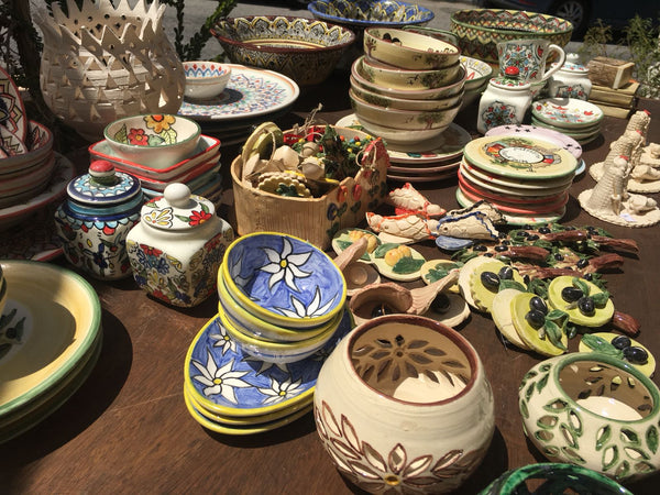 Handcrafted Ceramics from Nisf Jbeil near Nablus