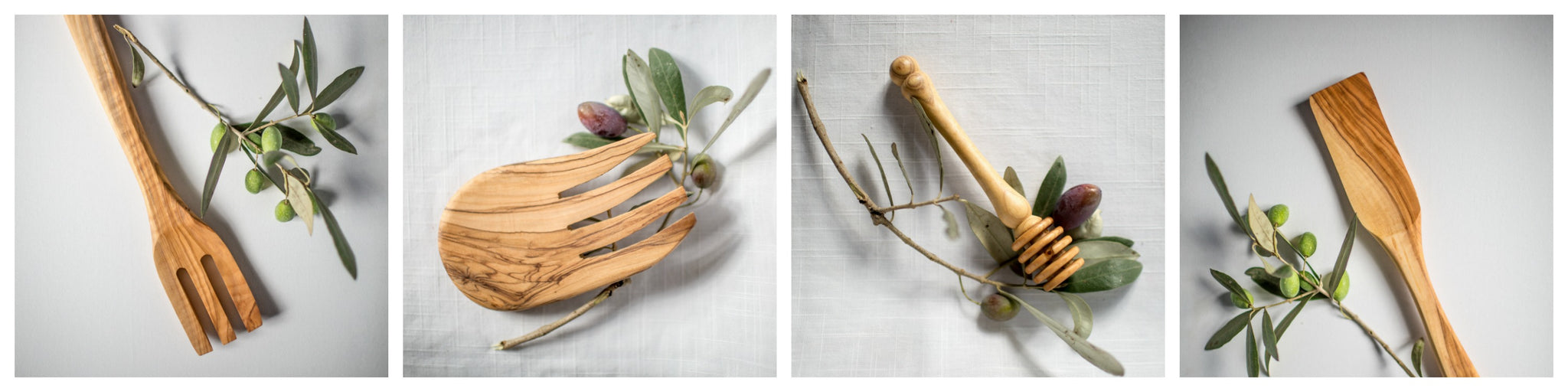 Handcrafted Olivewood Utensils