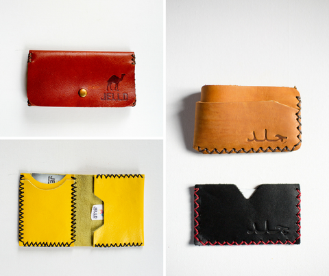 Jelld Handmade Leather Wallets | Handmade Palestine