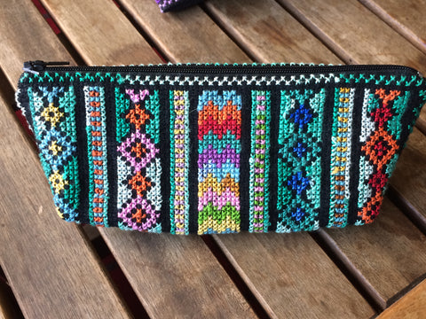 Traditional Tatreez Pencil Case