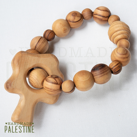 Wooden Nursing Bracelet in Tree Design