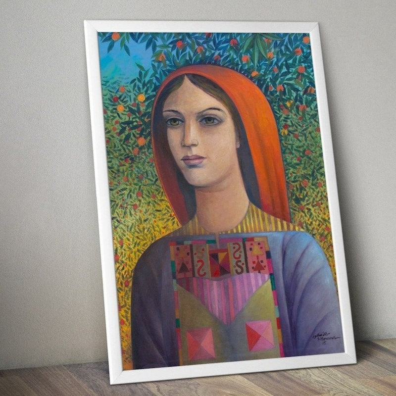 Art - Art Poster - Palestinian Beauty