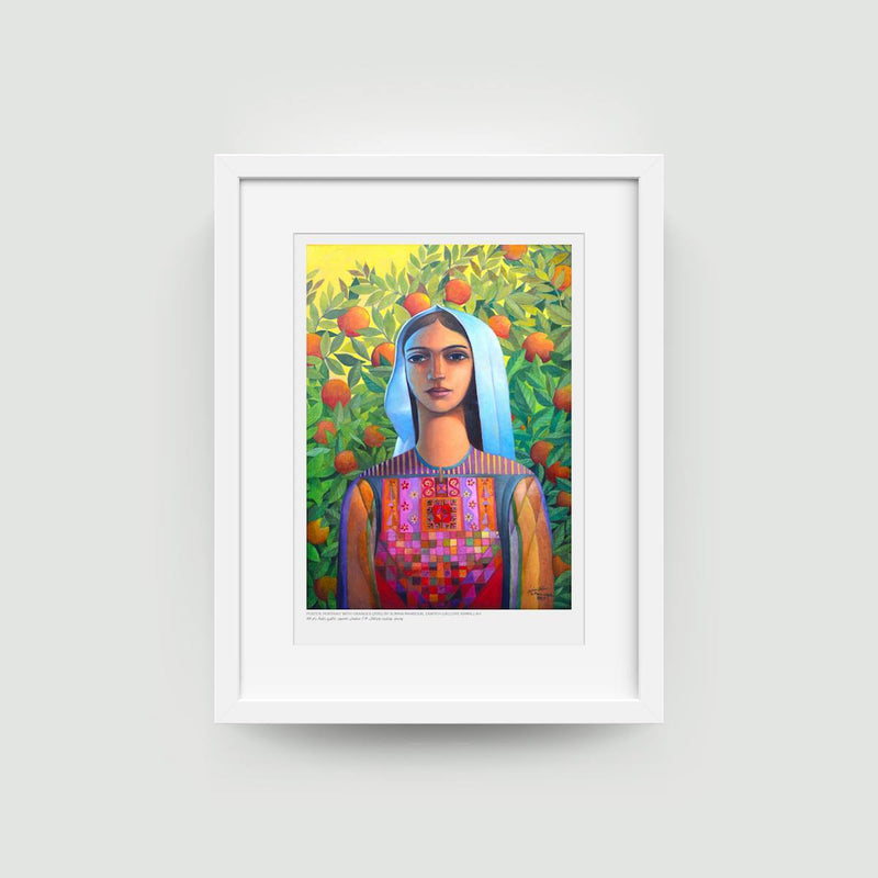 Art - Art Poster - Portrait With Oranges