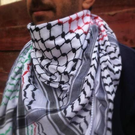 Keffiyehs - Original Palestine-Made Keffiyeh In National Flag Style