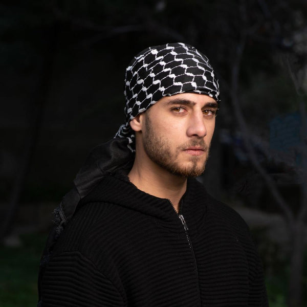 Keffiyehs - Original Palestine-Made Keffiyeh In Traditional Reversed Style