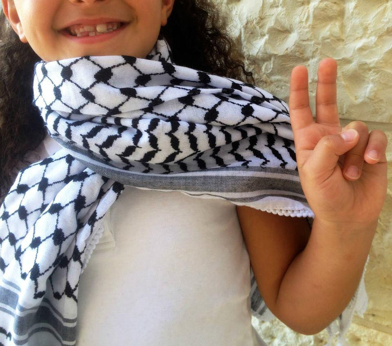 Keffiyehs - Traditional Keffiyeh Made In Palestine Arafat Style