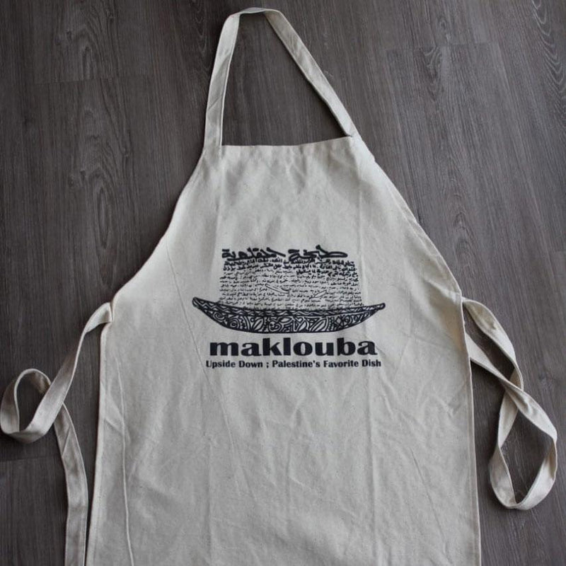 Kitchen - Kitchen Apron In Maklouba Design