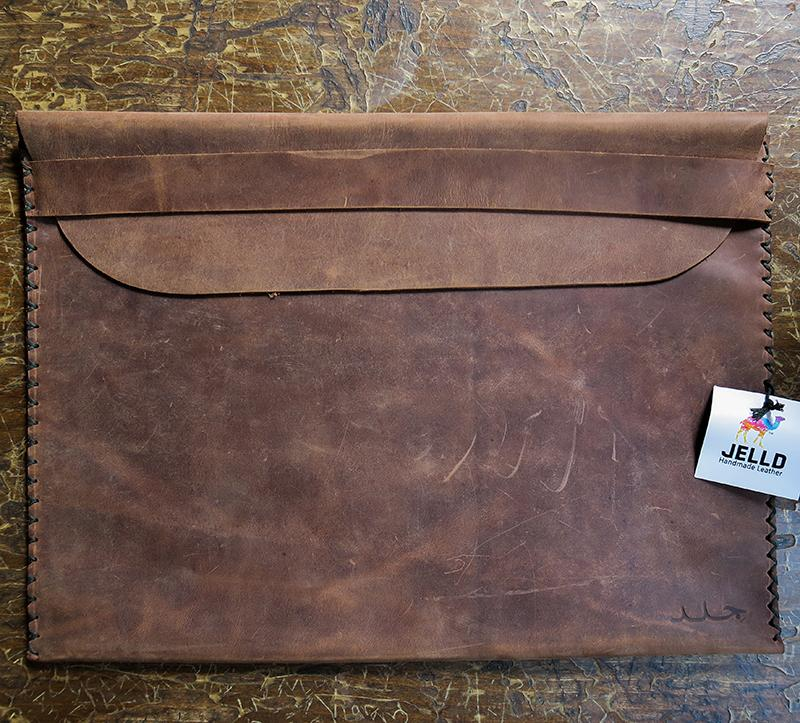 Leather & Clothing - Document/Laptop Holder