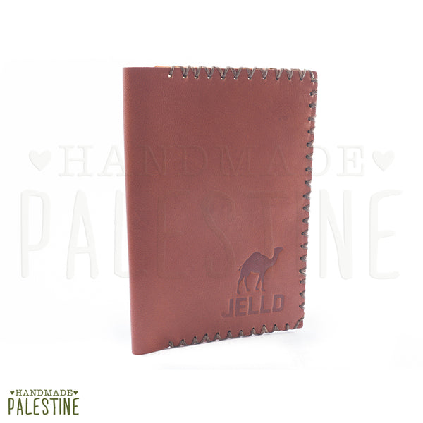 Leather & Clothing - Leather Passport Holder