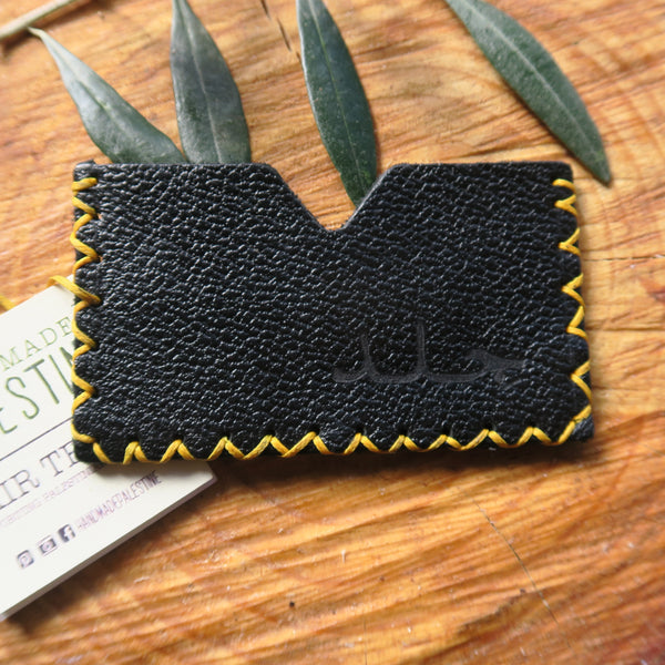 Leather & Clothing - Leather Single Card Holder