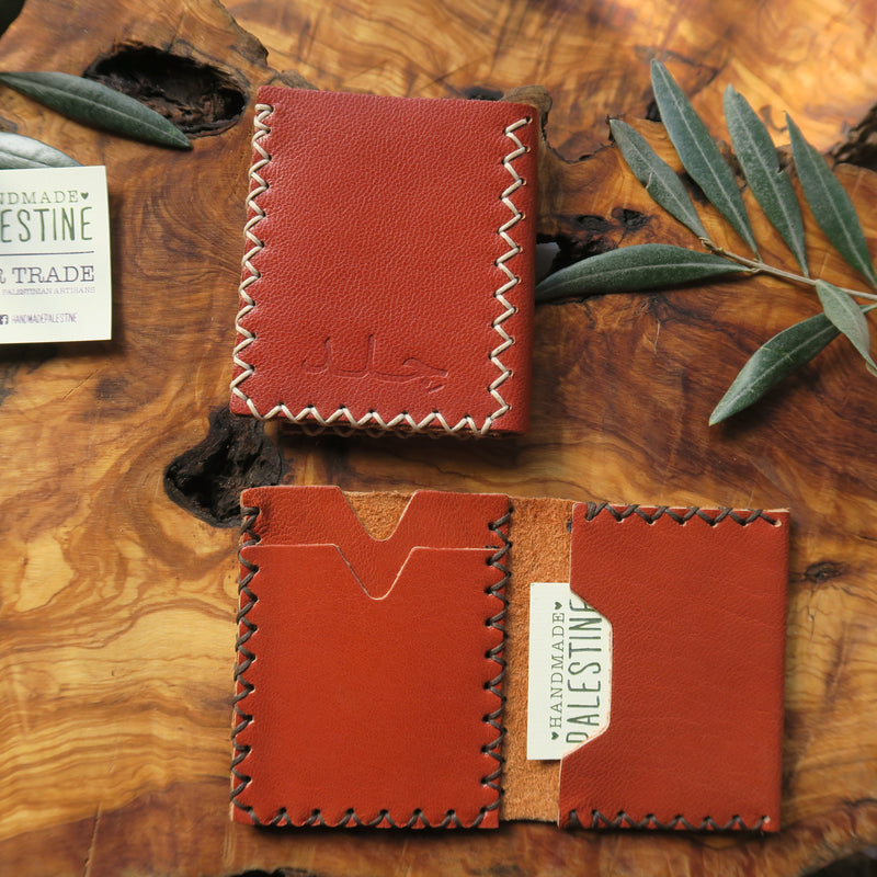 Leather & Clothing - Mini Front Pocket Wallet Two Fold