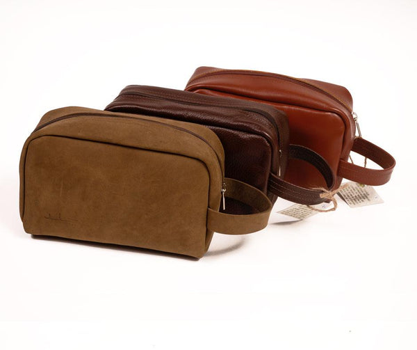 Leather & Clothing - !NEW! Toiletry Bag