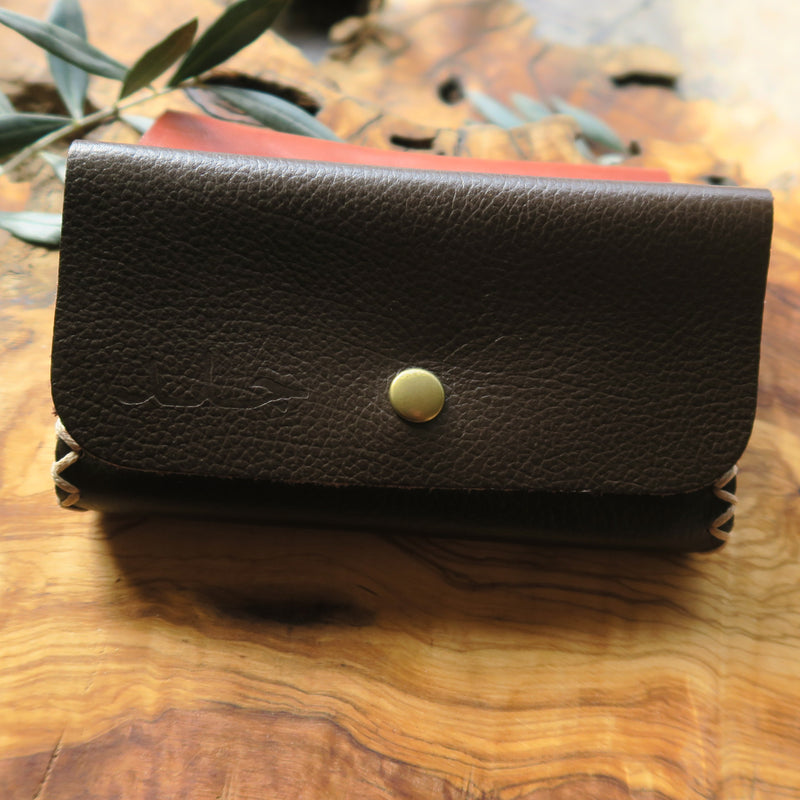 Leather & Clothing - Tobacco Pouch - Tri Fold