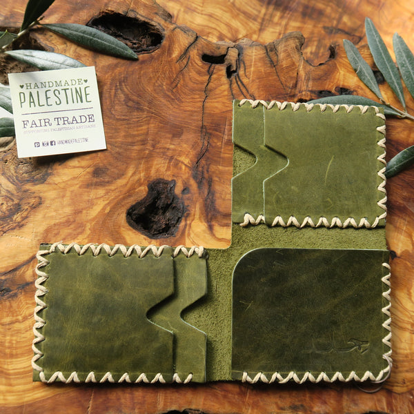 Leather & Clothing - Tri-Fold Small Wallet, Card Holder
