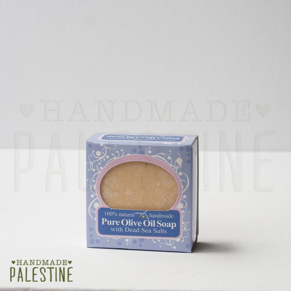 Natural Products - Olive Oil Soap Bar With Dead Sea Salts (OUT OF STOCK)