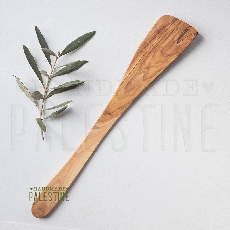 Olive Wood - Handmade Olive Wood Flat Kitchen Utensil