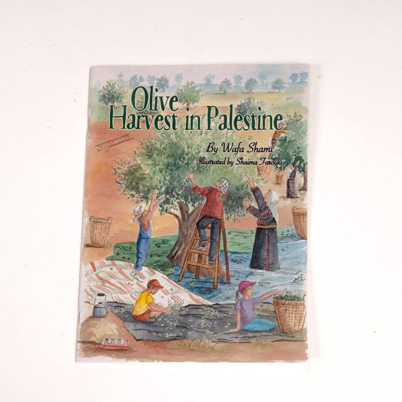 Paper, Cards & Books - Olive Harvest In Palestine