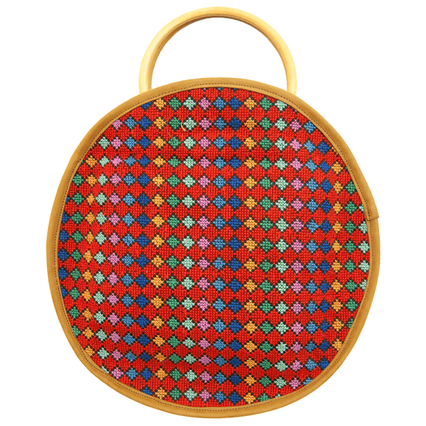 Tatreez - Embroidered Women's Handbag For Hangout