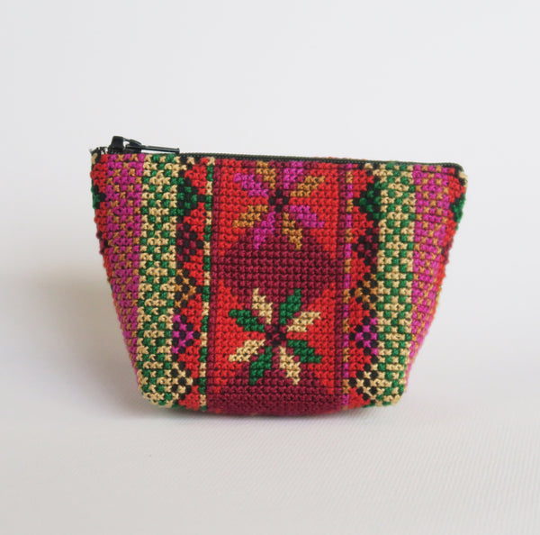 Wallets & Accessories - Embroidered Coin Purse