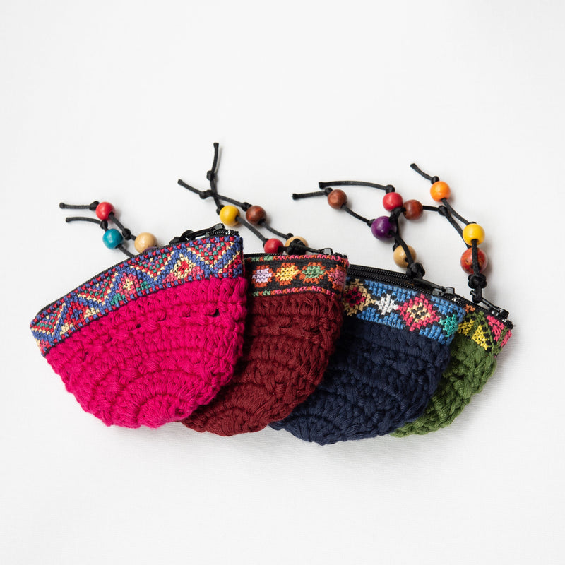 Wallets & Accessories - Hand Woven Coin Purse