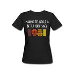 1981 - Female Tshirt